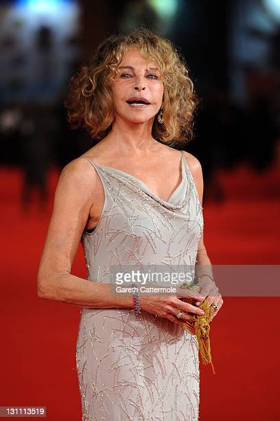 Sydne Rome attends the Il Cuore Grande Delle Ragazze premiere during the 6th International Rome Film Festival on November 1 2011 in Rome Italy
