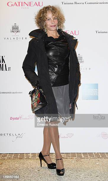 Sydne Rome attends the Pink Roma Party at Casina Valadier on February 22 2012 in Rome Italy