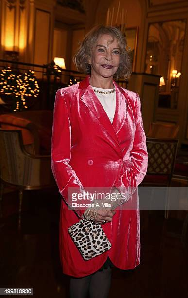 Sydne Rome attends the Pink Tie Ball Cocktail on December 3 2015 in Rome Italy