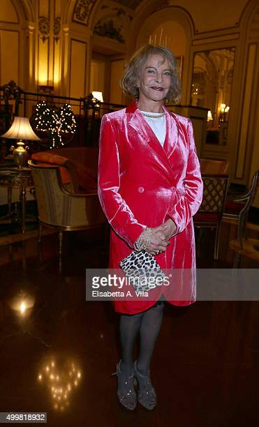 Sydne Rome attends the Pink Tie Ball Cocktail on December 3, 2015 in Rome, Italy.