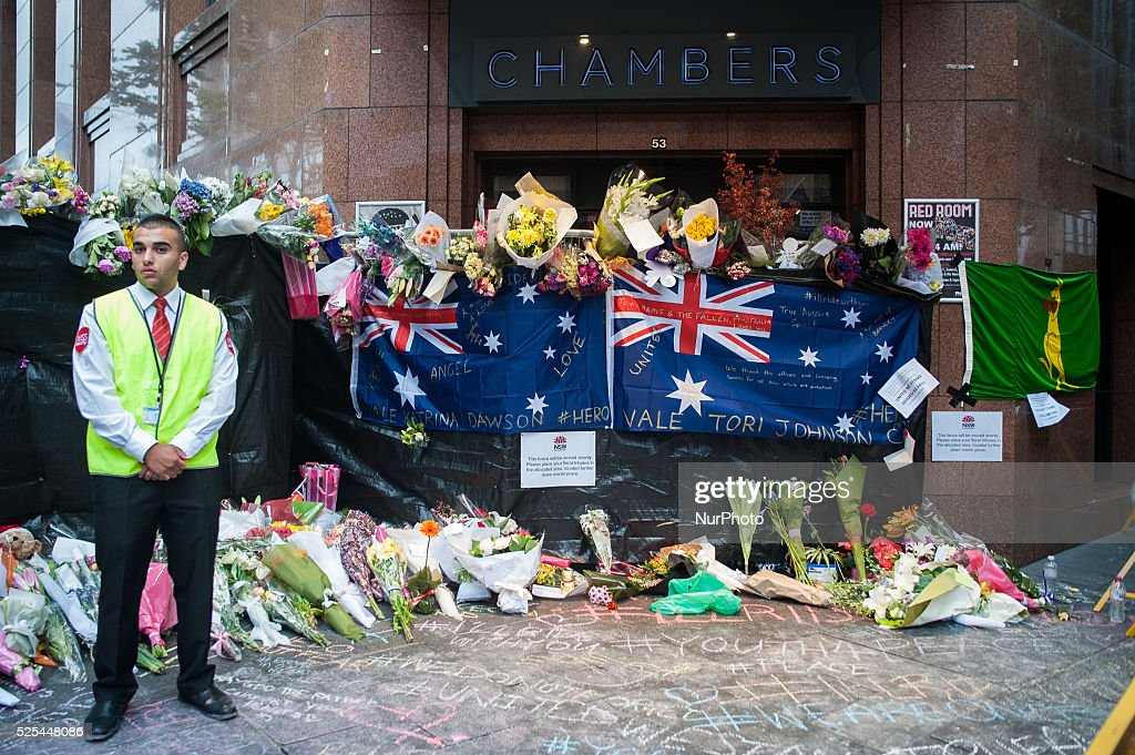 Sydney Pays Respect To Victims After 16 Hour Siege : News Photo