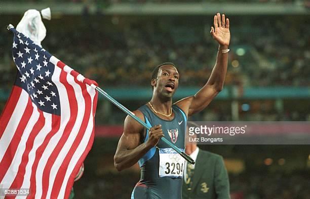 Sydney; 400m MAENNER FINALE; Michael JOHNSON/USA - GOLD -