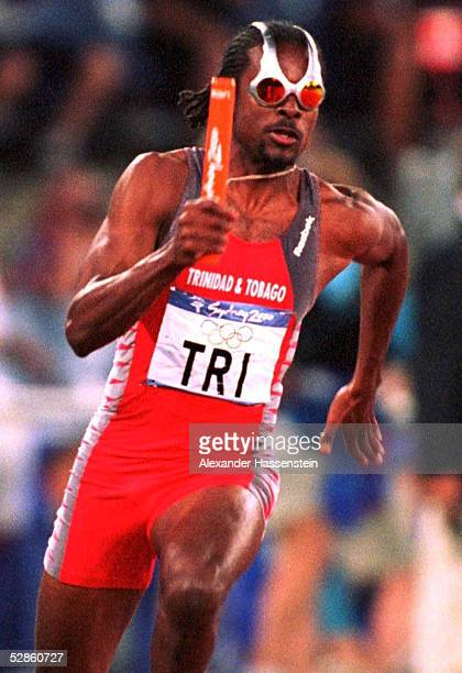 SYDNEY 2000 Sydney 4x100m MAENNER Niconner ALEXANDER/TRI