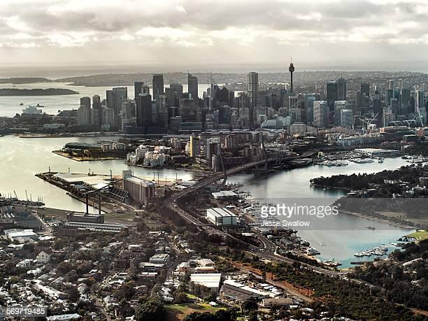 Sydney aerial landscape