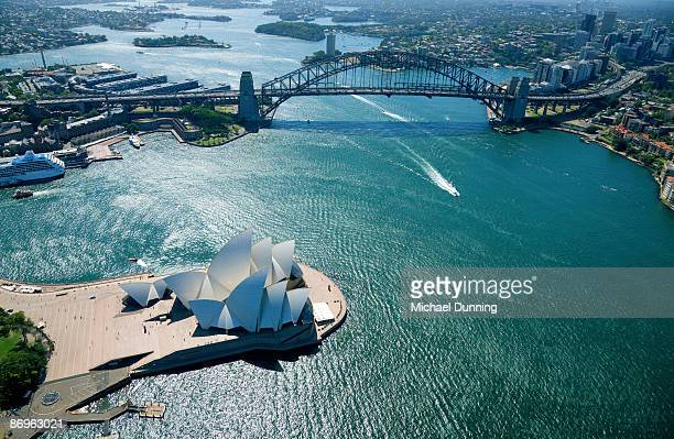 sydney aerial - sydney stock pictures, royalty-free photos & images