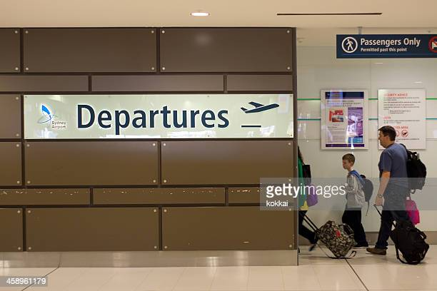 Sydney Airport - Departures