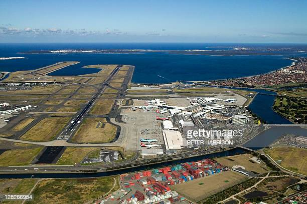 Sydney Airport (Kingsford Smith International Airport), Mascot, New South Wales, Australia