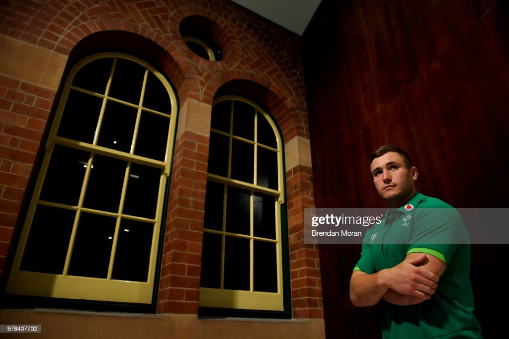 Ireland Rugby Training Session and Press Conference
