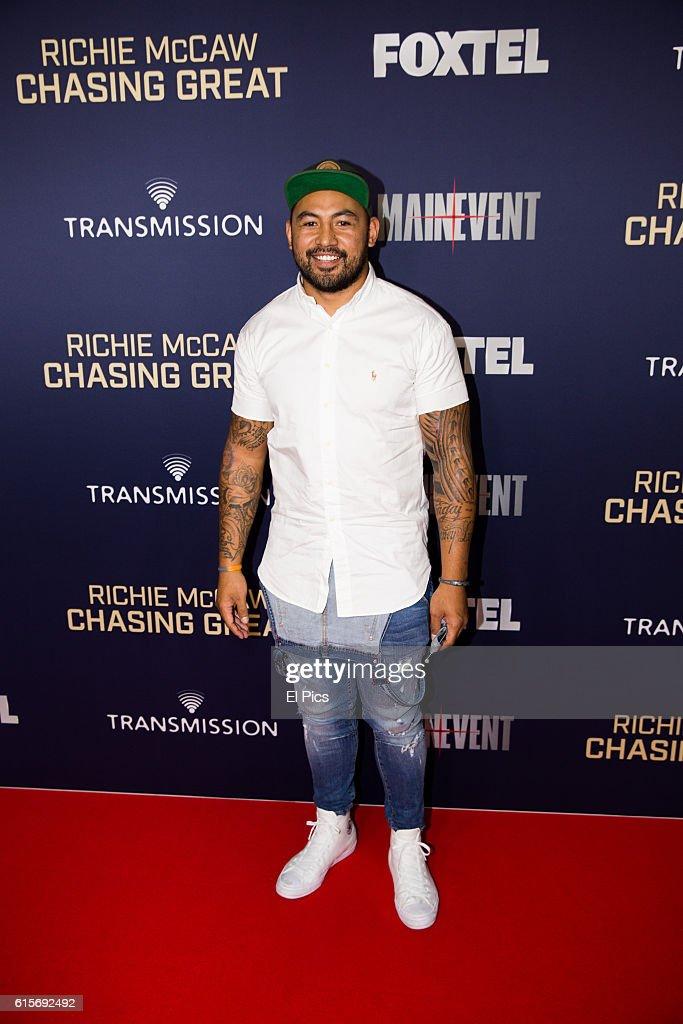 "Richie McCaw Film ""Chasing Great"" Australian Premiere - Arrivals"