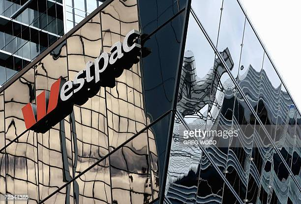 Westpac Bank signage is displayed on a building in Sydney in this photo taken 13 July 2006 Australia's Westpac Banking Corp Ltd announced record...