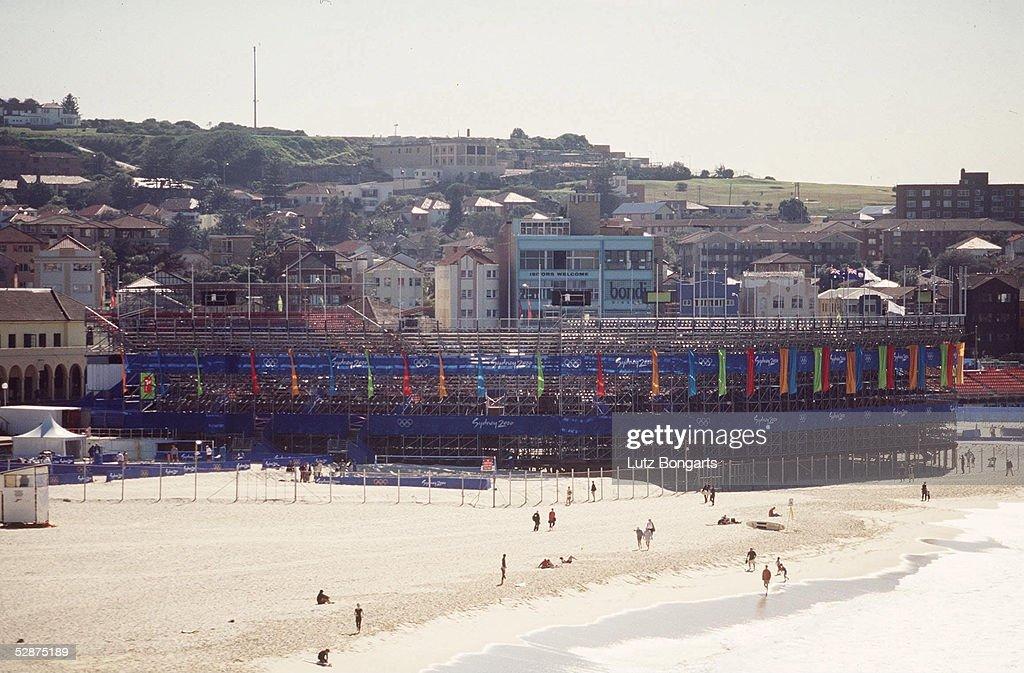 BEACHVOLLEYBALL: OLYMPISCHE SPIELE SYDNEY 2000 : Photo d'actualité