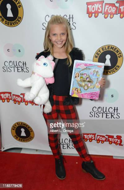 Sydney Brower attends The Couch Sisters 1st Annual Toys For Tots Toy Drive held onNovember 20 2019 in Glendale California