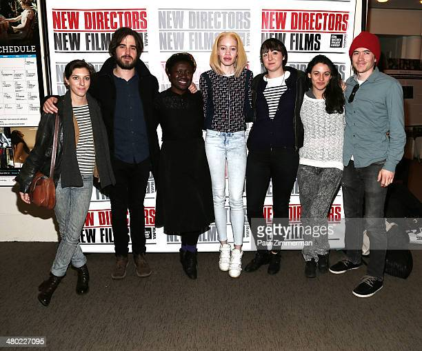 Sydney Buehan Joshua James Richards Frances Bodomo Diandra Forrest Bella WingDavey Valerie Steinberg and Jade McDonald attend the Face In The Crowd...