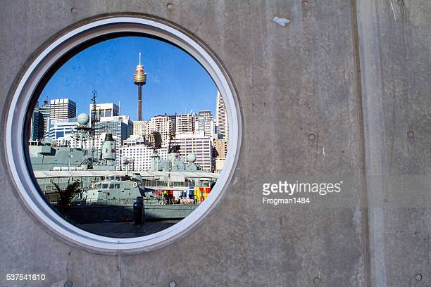 Sydney CBD reflection