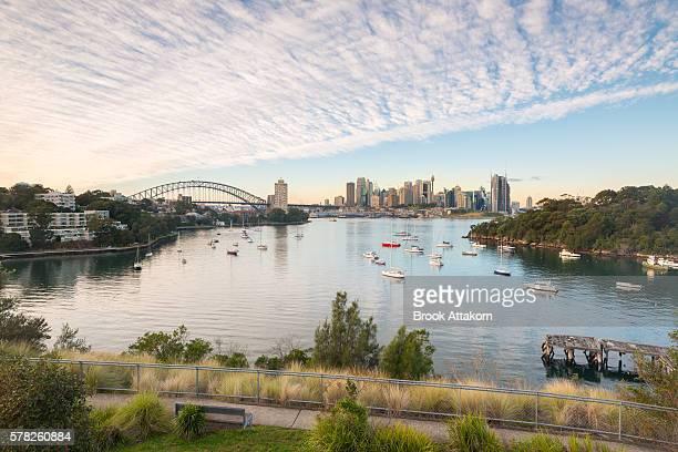 Sydney CBD sunrise.