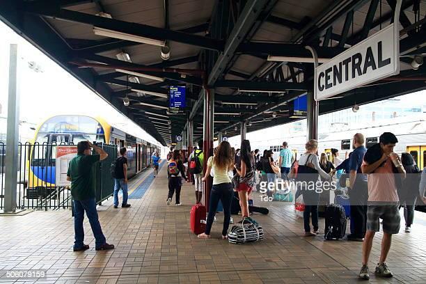 Sydney Central Station,Australia.