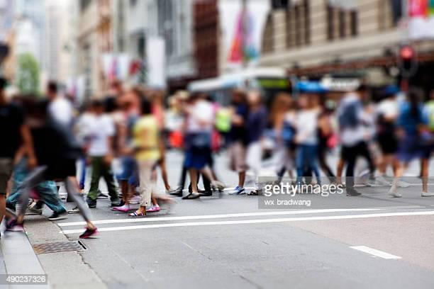 Sydney city. Street Pedestrian