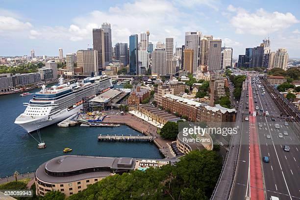 Sydney cityscape, The Rocks, Circular Quay