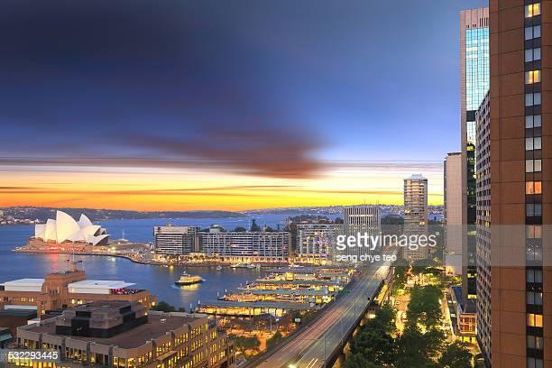 Sydney cityscape view