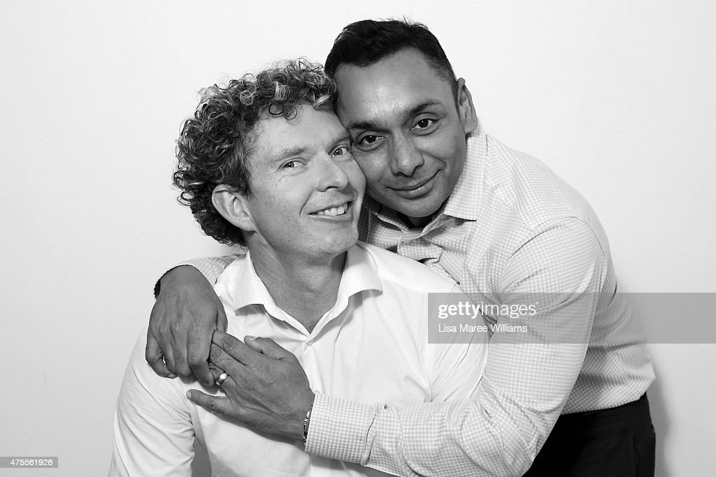 Sydney couple, Andrew Reid, 37, and Warren Peppin, 48, pose during a portrait session on June 1, 2015 in Sydney, Australia. Andrew and Warren have been together for 7 years, they had a civil union in 2010 followed by a wedding festival amongst family and friends in Byron Bay. In 2015 they were married at the British High Commission and hope to celebrate again when they can be considered legally married in Australia.'Making same-sex marriage legal in Australia will help all gay people, not just those in long term relationships, it will make them feel part of the bigger picture, more equal in the work place and broader communtiy.' Warren said. 'Passing this bill will stop couples having to justify their love and committment to each other,' Andrew said. The marriage equality debate in Australia has reignited on the back of Ireland's referendum legalising same-sex marriage last week. Recent polls suggest public support for gay marriage in Australia is at an all-time high of 72%.