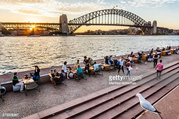 Sydney Cove sunset