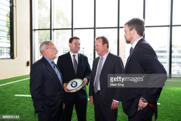 Sydney Cricket Ground Chairman Tony Shepherd NSW Minister for Sport Stuart Ayres Australian Rugby CEO Bill Pulver and UTS ViceChancellor Professor...