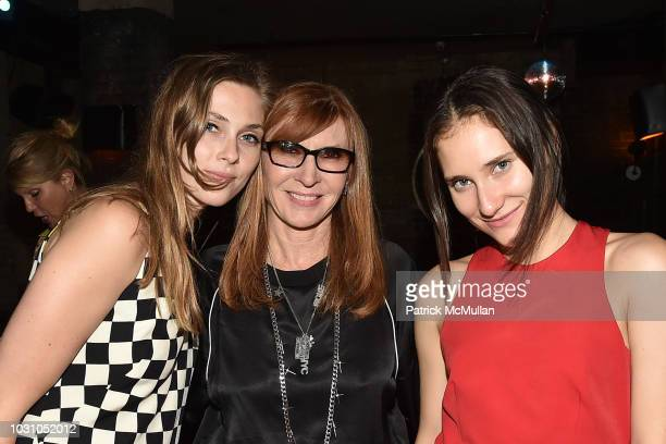 Sydney Curley Nicole Miller and Masha Osorio attend the Nicole Miller Spring 2019 After Party at Acme on September 6 2018 in New York City