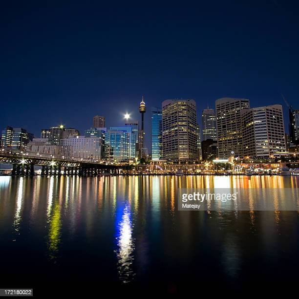 Sydney Darling Harbour twilight