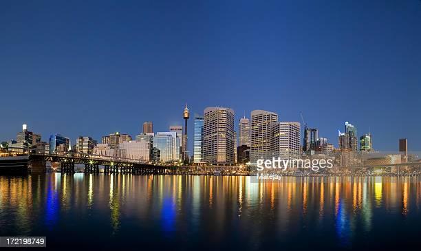 Sydney Darling Harbour twilight