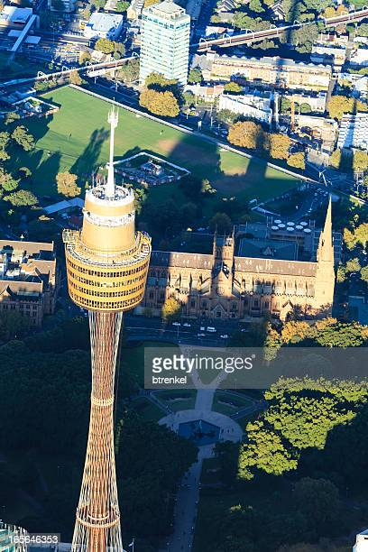 Sydney downtown - aerial view