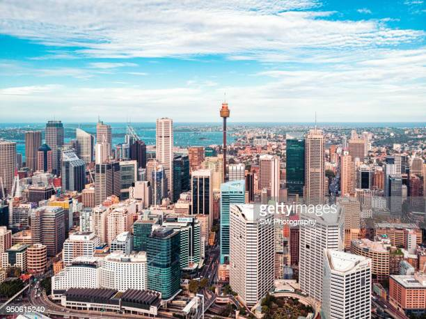 sydney downtown - financial district stock pictures, royalty-free photos & images