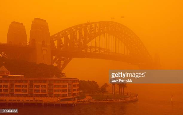 sydney dust storm - dust storm stock pictures, royalty-free photos & images