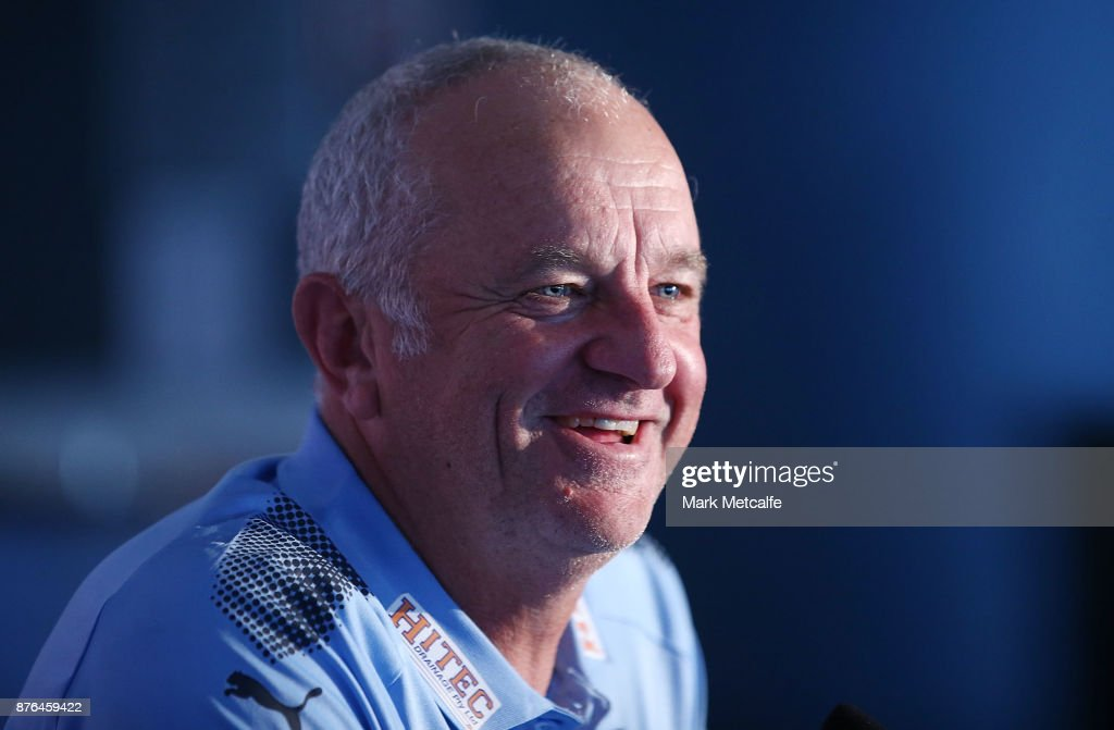 FFA Cup Final: Press Conference : News Photo