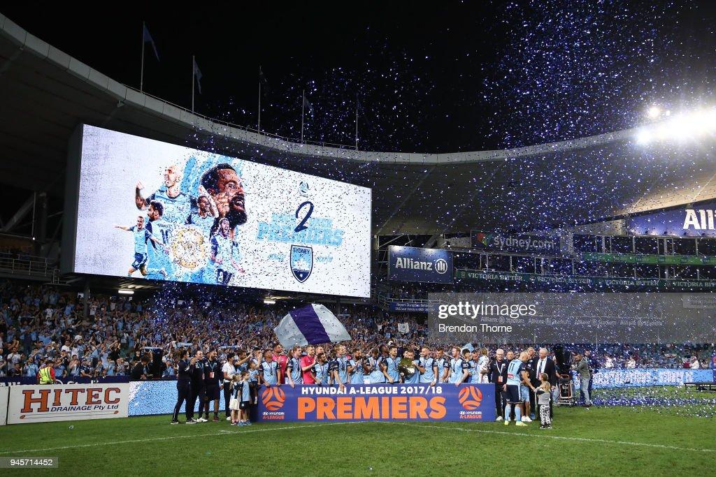 A-League Rd 27 - Sydney v Melbourne : News Photo