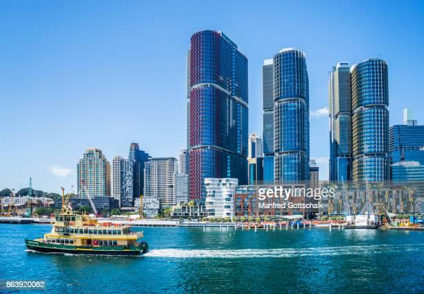 Sydney ferry and International Towers Sydney