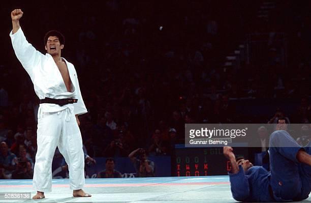 MAENNER/bis 100 KG Kosei INOUE of Japan GOLD Nicolas GILL/CAN SILBER