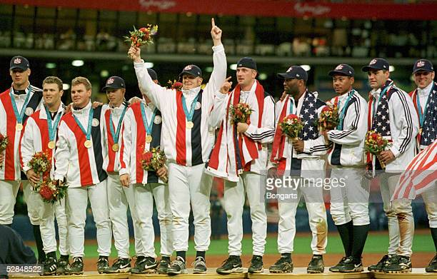 SYDNEY 2000 Sydney FINALE/MAENNER/USA KUBA 40 JUBEL TEAM USA GOLD