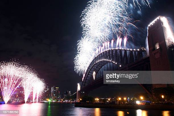 sydney fireworks display