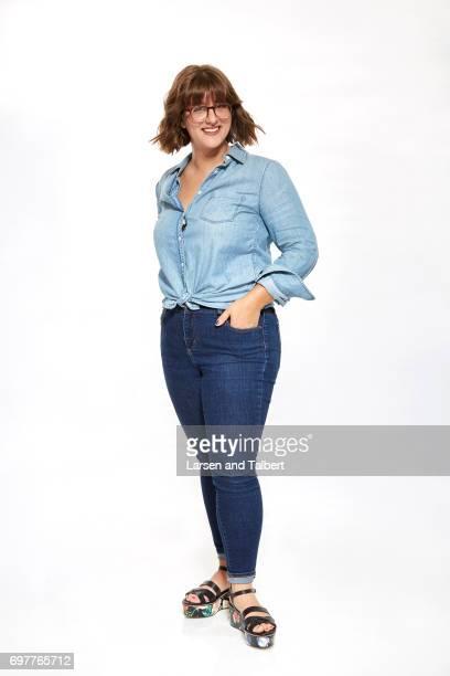 Sydney Fleischmann is photographed for Entertainment Weekly Magazine on June 11 2017 in Austin Texas