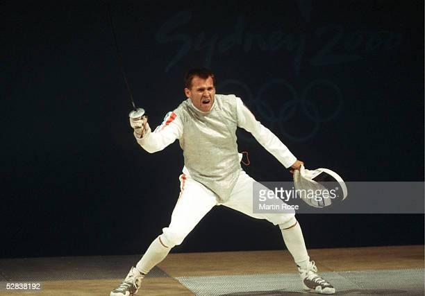 SYDNEY 2000 Sydney FLORETT/MANNSCHAFT/MAENNER Patrice LHOTELLIER/FRA GOLD