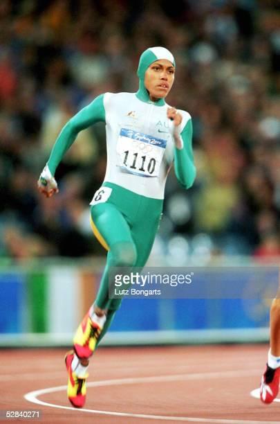 SYDNEY 2000 Sydney FRAUEN/400m FINALE GOLD fuer Cathy FREEMAN/AUS