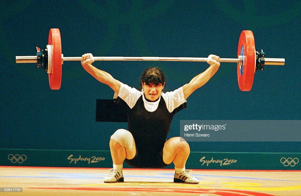 SYDNEY 2000, Sydney; FRAUEN/BIS 48 KG; Isabella DRAGNEVA/BUL - GOLD - wurde spaeter des; Dopings ueberfuehrt und disqualifiziert