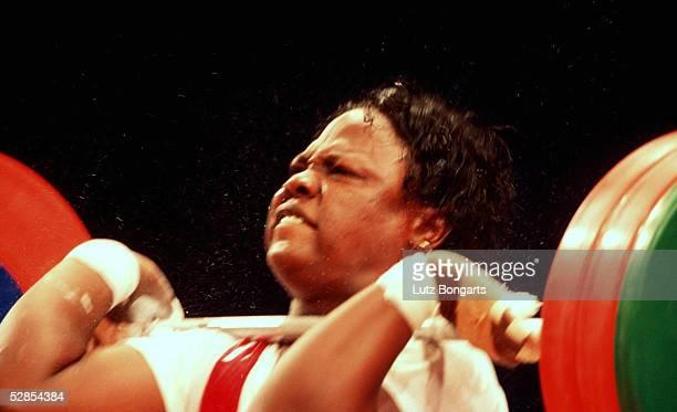 SYDNEY 2000 Sydney FRAUEN/ueber 75kg Helen IDAHOSA/NGR