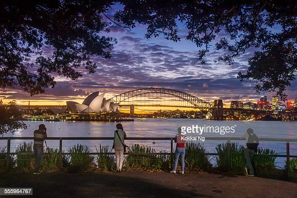 Sydney from Mrs Macquaries Chair