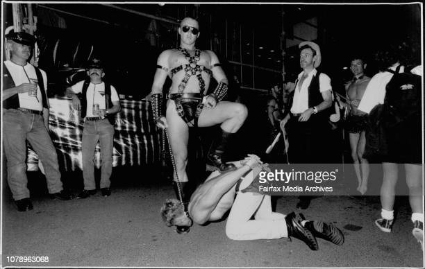 Sydney Gay, Mardi Gras - Blue Beaumont & William Armstrong. February 29, 1992. .