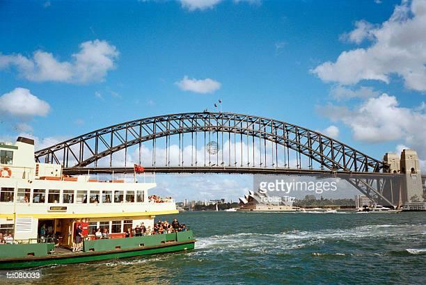 Sydney Harbor Bridge and ferry, Australia