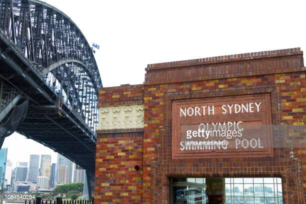 sydney harbor bridge - north stock pictures, royalty-free photos & images