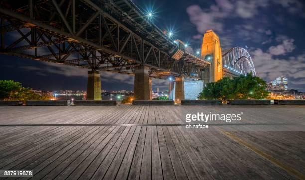 sydney harbor bridge - city life stock pictures, royalty-free photos & images