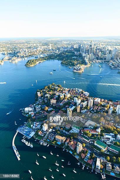 Sydney harbor - opposite Opera House, Kirribilli