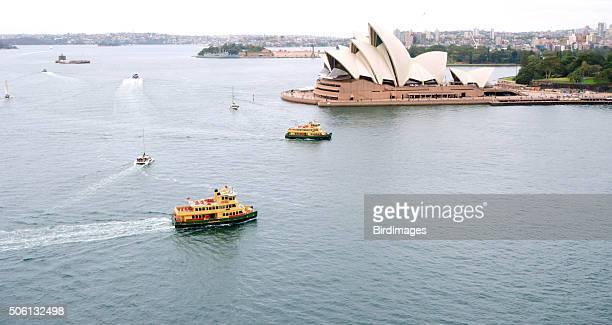 Sydney Harbor View from Above, Australia